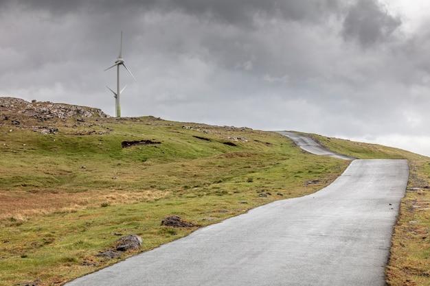 Estação de vento da fazenda