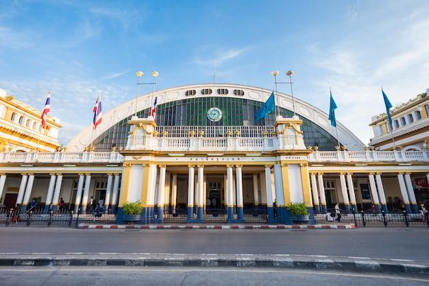 Estação ferroviária bangkok