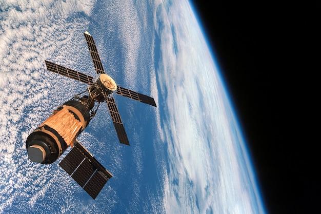 Estação orbital espacial