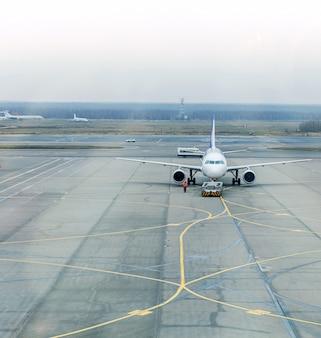Estacionamento de avião