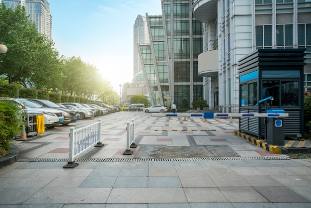 Estacionamento do financial district plaza