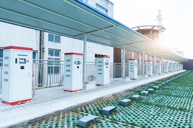 Estações de carregamento de carros elétricos