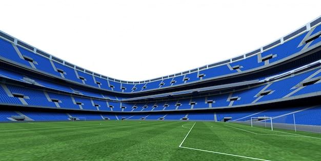 Estádio. 3d render