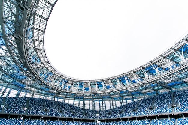 Estádio de futebol e assentos do estádio