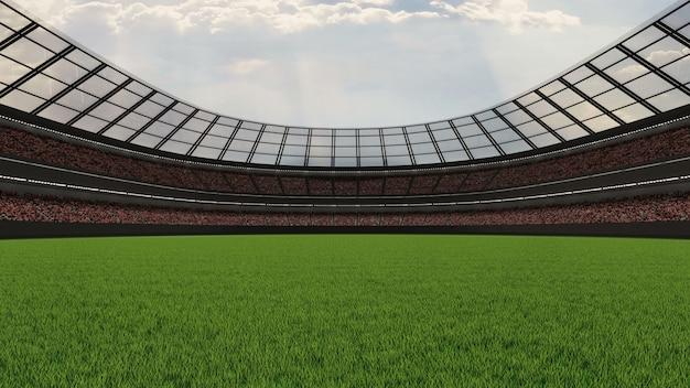 Estádio de futebol grande