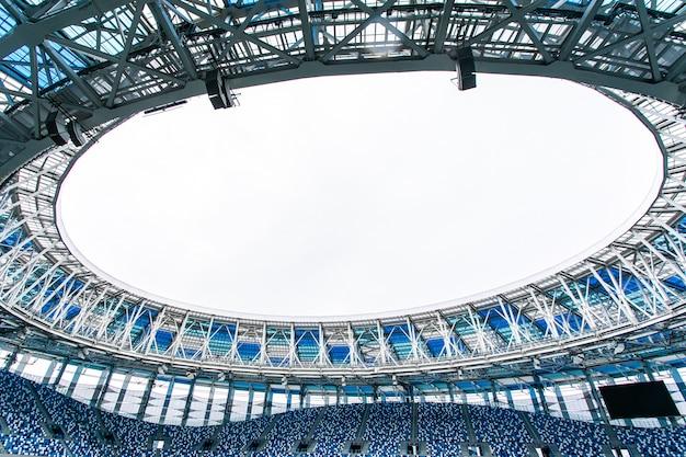 Estádio de futebol vazio