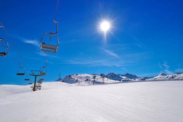 Estância de esqui no vale de aran