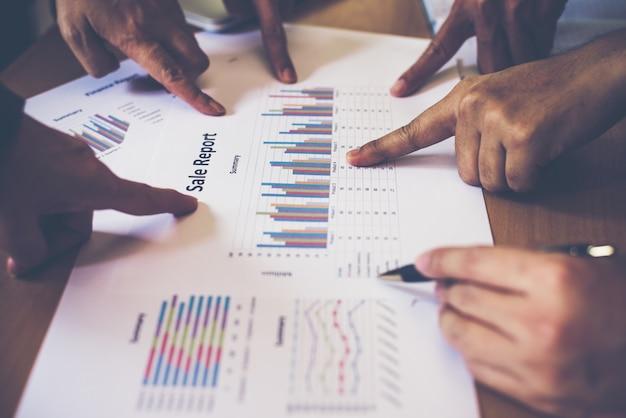 Estatísticas da cooperação pessoas financeiras profissionais