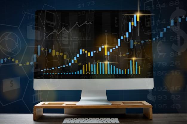 Estatísticas de análise de dados no monitor