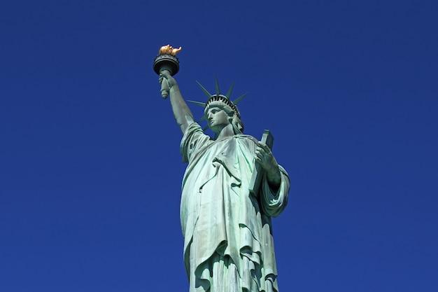 Estátua da liberdade em nova york dos estados unidos