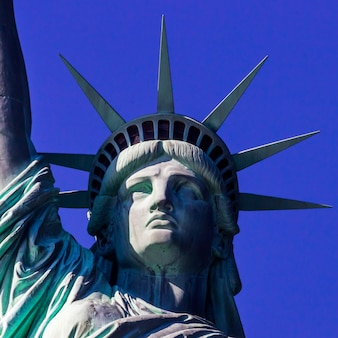 Estátua da liberdade fechar-se