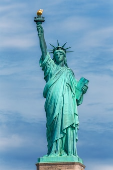 Estátua da liberdade new york american symbol eua