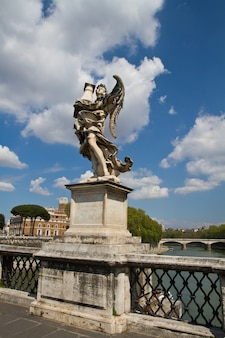Estátua, de, castel, sant'angelo, roma