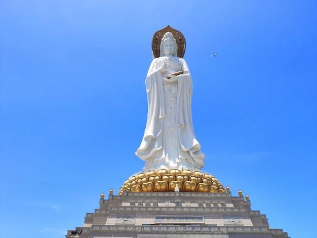 Estátua de cultura de buda da deusa guanyin
