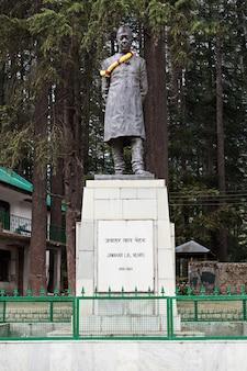 Estátua de jawaharlal nehru