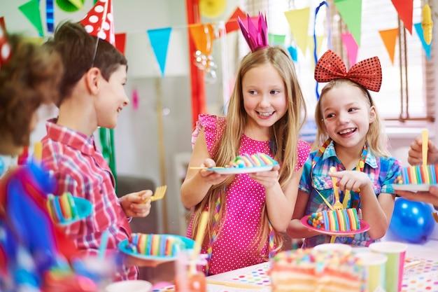 Este bolo de aniversário tem um gosto incrível