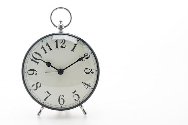 Esteira relógio fundo hora do vintage