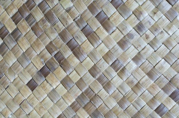 Esteiras feitas de folhas de pandanus