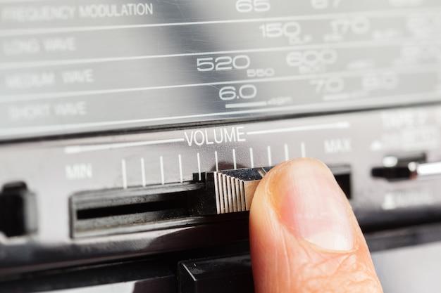 Estéreo de áudio vintage