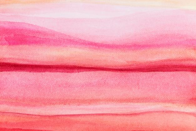 Estética ombre rosa aquarela fundo estilo abstrato