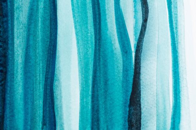 Estilo abstrato de fundo aquarela azul ombre Foto gratuita
