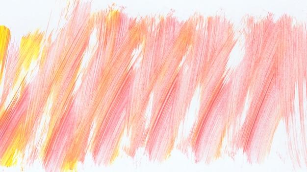 Estilo abstrato de pintura acrílica