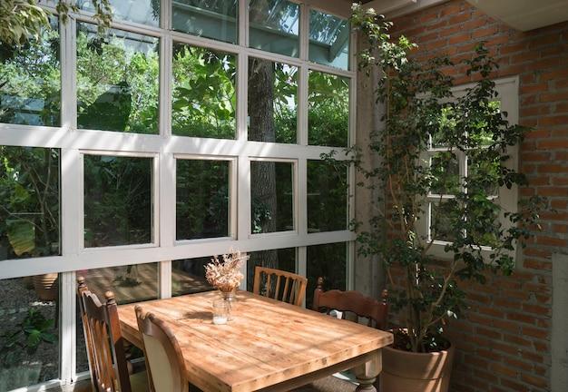 Estilo ambiental do eco verde de decoração de interiores