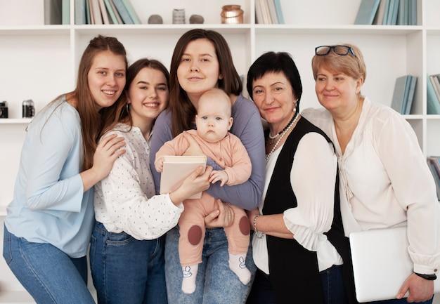 Estilo de vida comunitário da mulher e criança