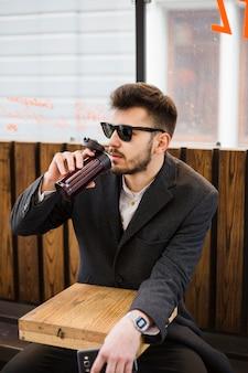 Estilo de vida de um homem de negócios