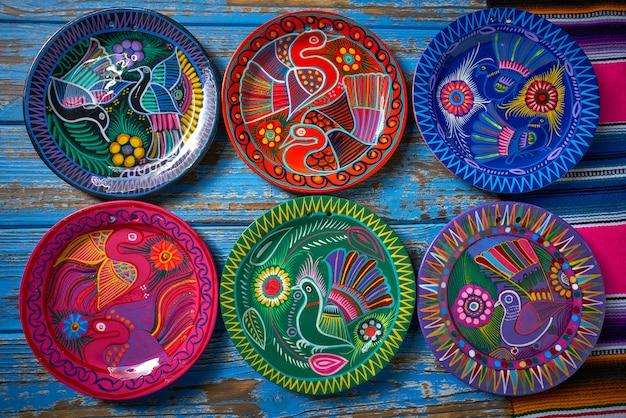 Estilo mexicano de cerâmica talavera do méxico