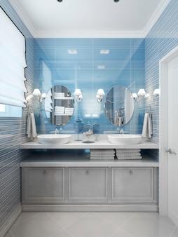 Estilo moderno de banheiro