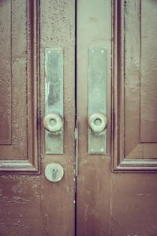 Estilo vintage de alça de porta