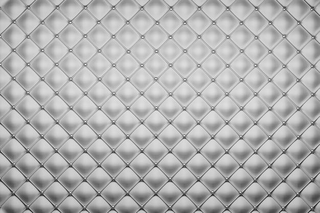 Estofamento preto e branco