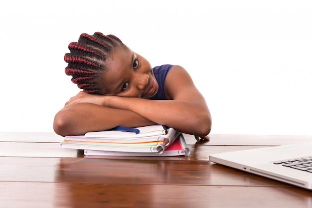 Estou tão cansado de estudar!