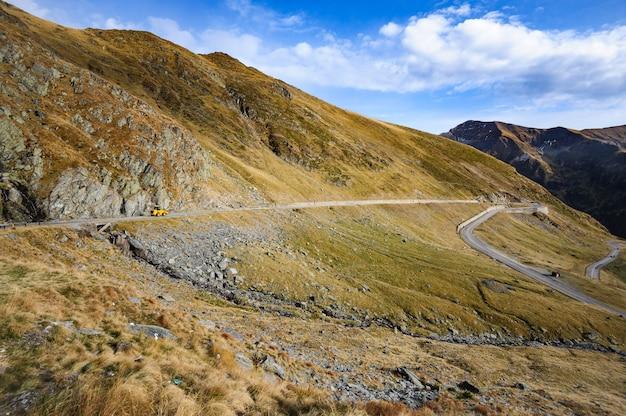 Estrada da montanha transfagarasan