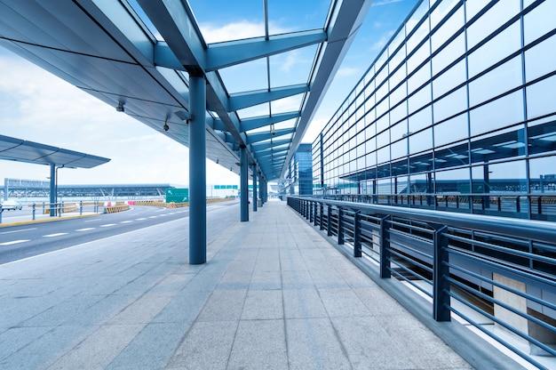 Estrada do aeroporto de shanghai pudong