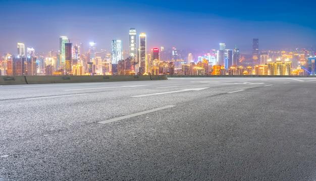 Estrada do movimento do speedway da estrada livre novo