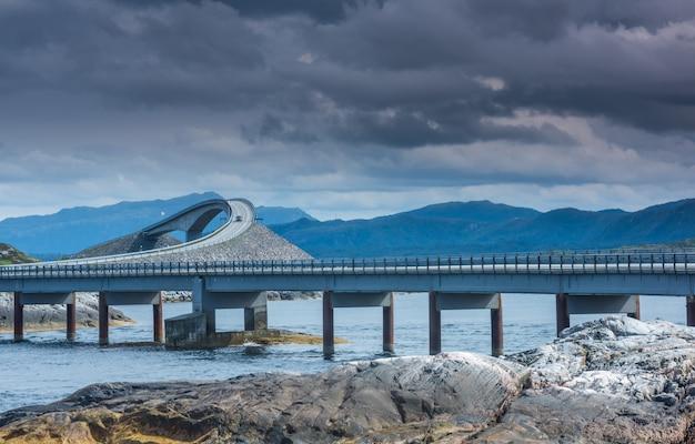 Estrada do oceano atlântico, noruega