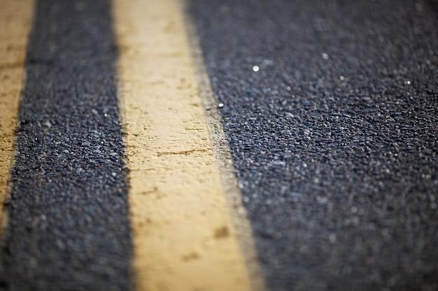 Estrada marcada