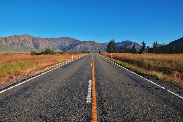 Estrada na ilha sul