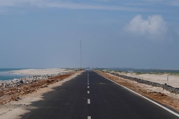 Estrada para o fim do mundo rameshwaram índia
