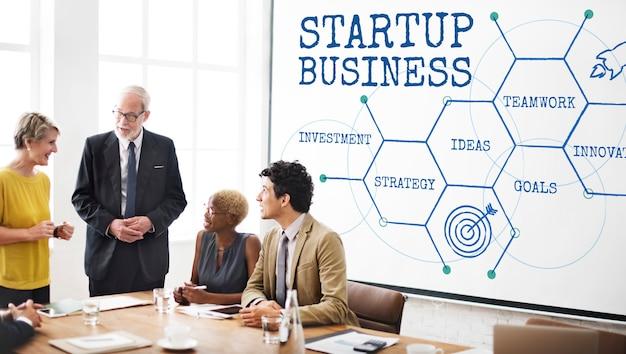 Estratégia de metas de negócios iniciais