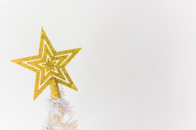 Estrela da árvore de natal