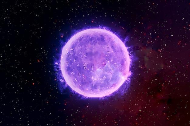Estrela de nêutrons no fundo da galáxia os elementos desta imagem foram fornecidos pela nasa