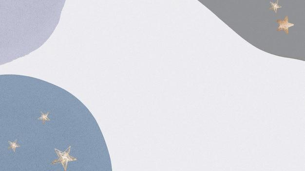 Estrelas douradas brilhantes de fundo abstrato