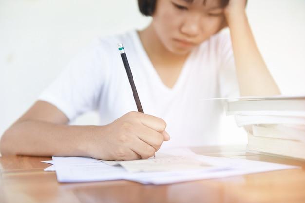 Estresse do exame