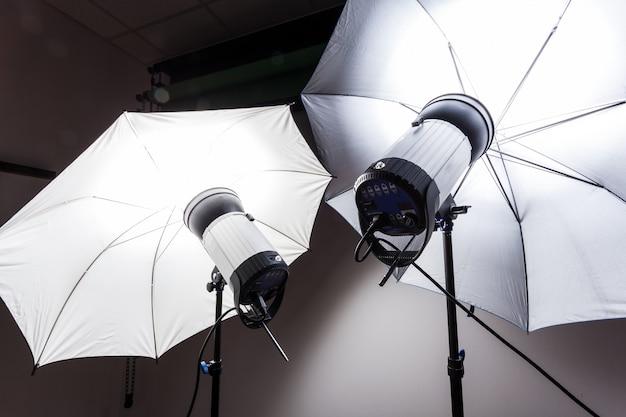Estroboscópio de flash de estúdio de fotografia