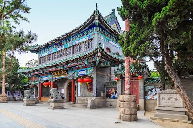 Estrutura da história asiática linda madeira decorativa