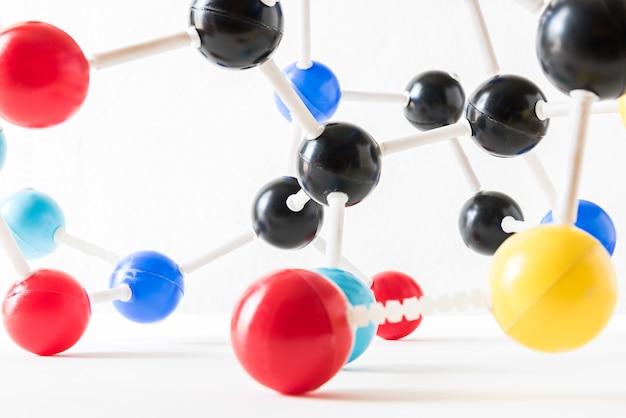 Estrutura da molécula da ciência, conceito da ciência