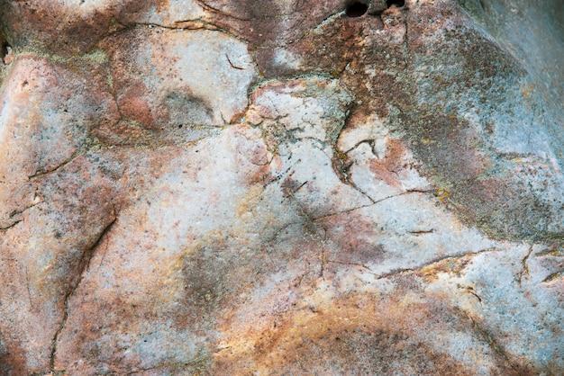 Estrutura da superfície da pedra